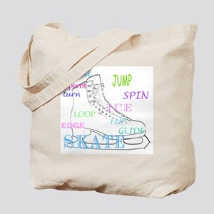 Figure Skating Tote Bag